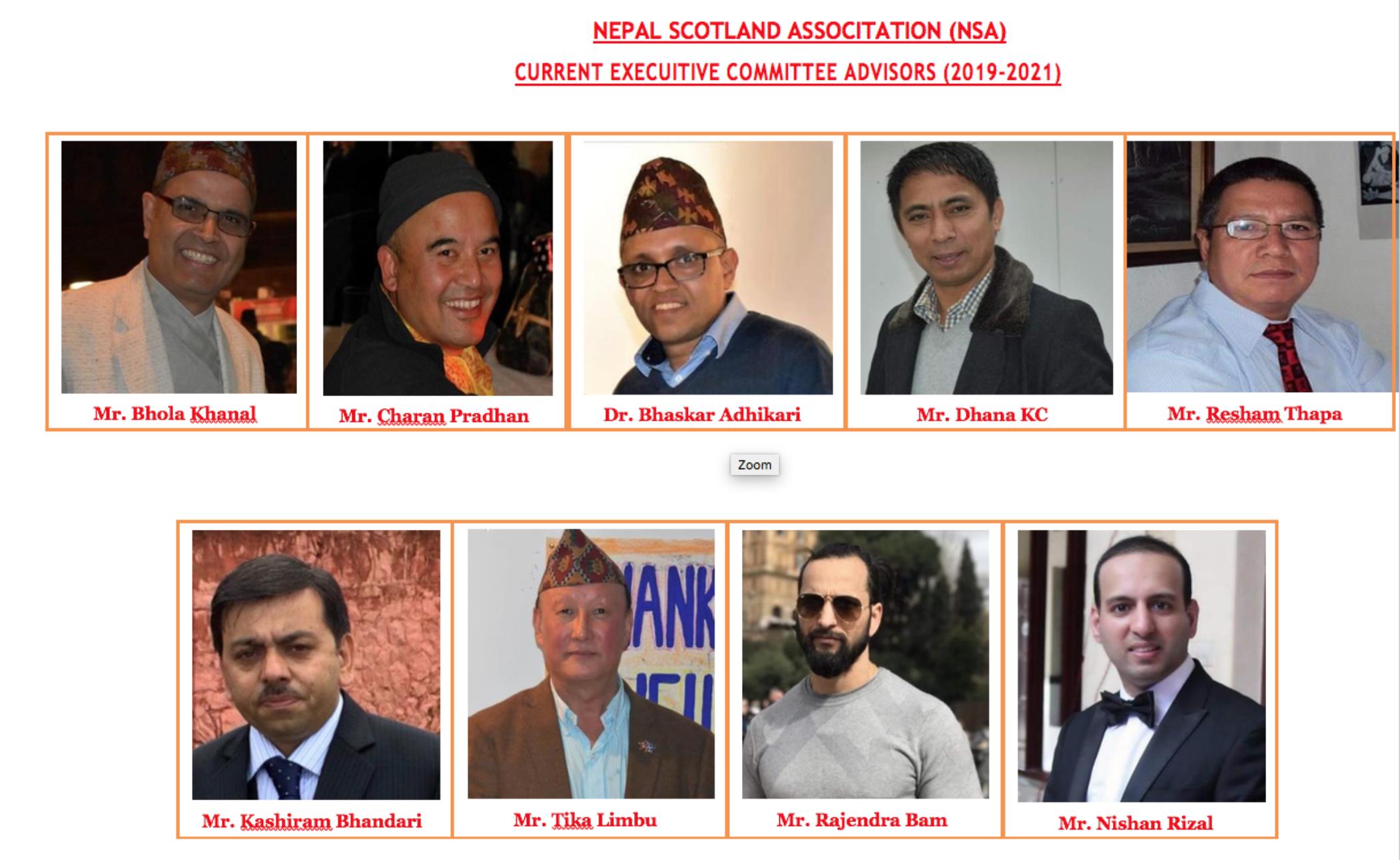 Our Team - Nepal Scotland Association